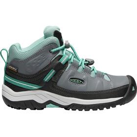 Keen Junior Targhee WP Mid Shoes steel grey/wasabi